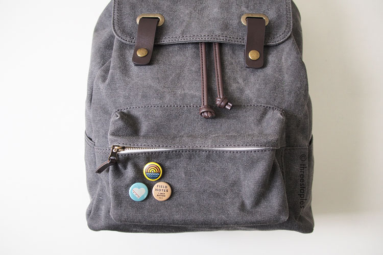 Button use case #003: backpack. #001 is  here .