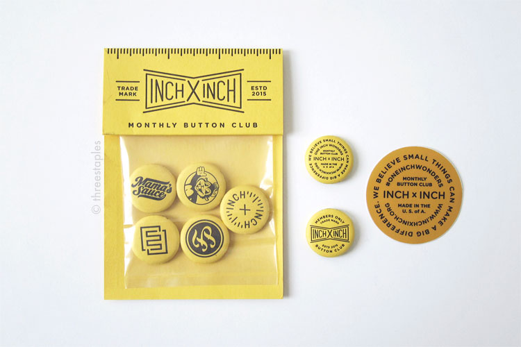 Bonus buttons with your first set of buttons.