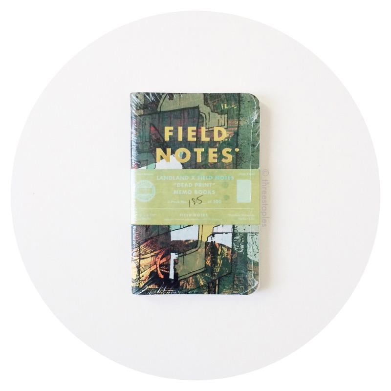 """Landland ✕ Field Notes """"Dead Print"""" (2015)"""