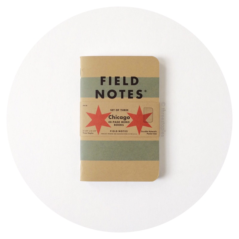 Field Notes Chicago Graph 3-Pack (January 2016)