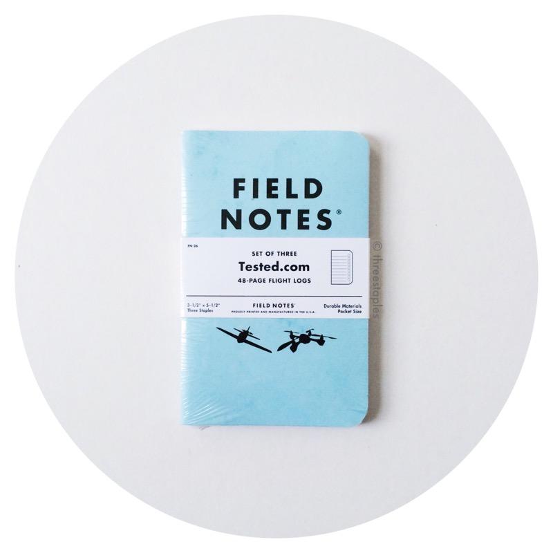 """Field Notes x Tested.com """"Flight Log"""" (December 2015)"""