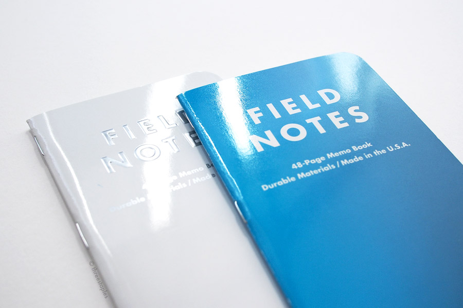 Glossy, winter editions: Northerly (left) vs. Cold Horizon (this particular cover looks slightly metallic, too).