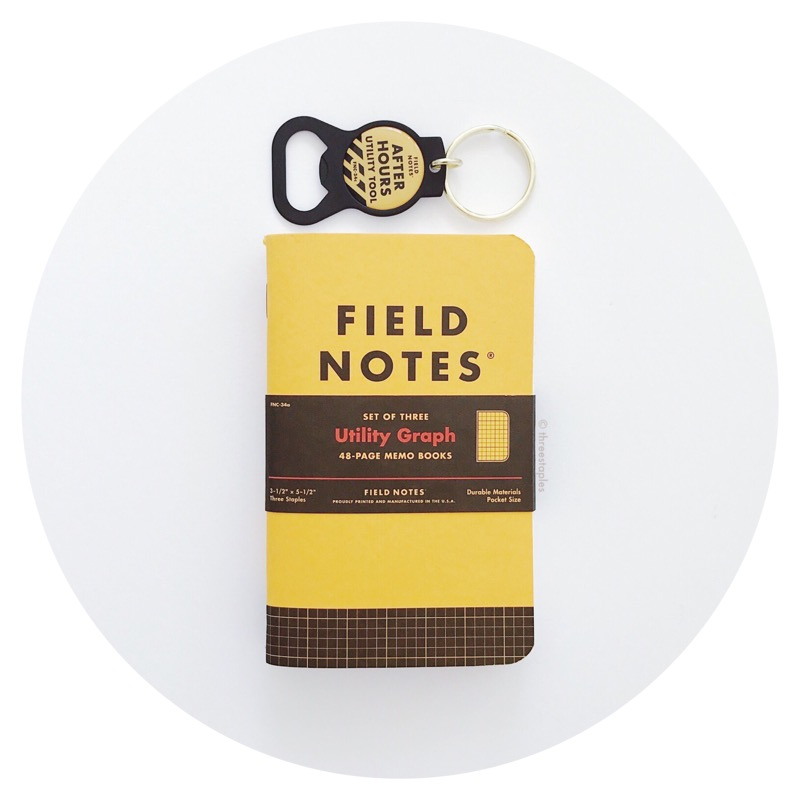 Field Notes Quarterly: Utility Graph (Spring 2017)