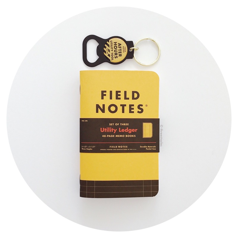 Field Notes Quarterly: Utility Ledger (Spring 2017)