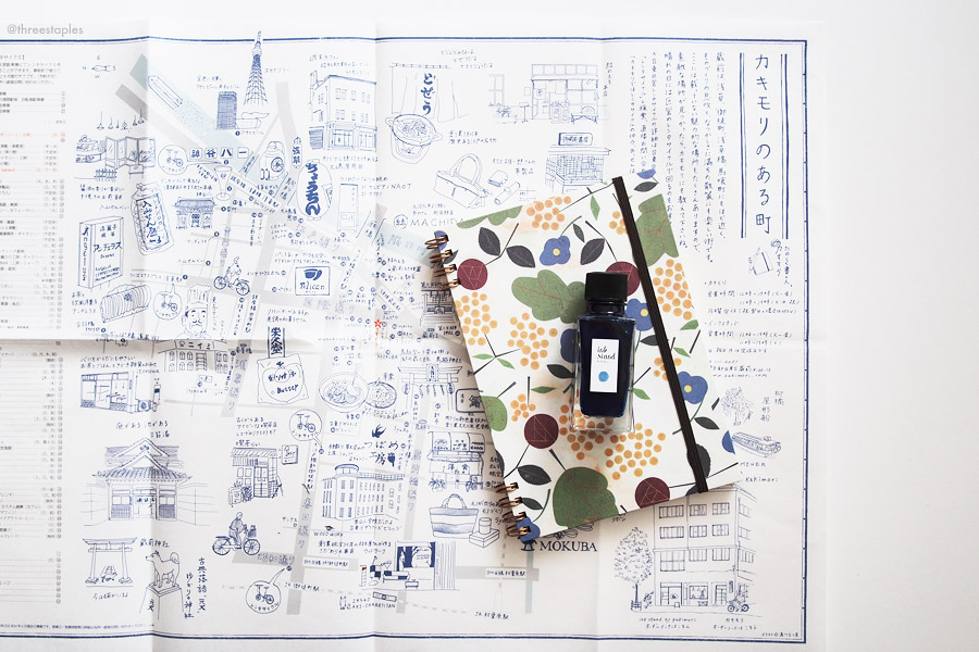 Kakimori even had a free  illustrated map  of their neighborhood. Charming!