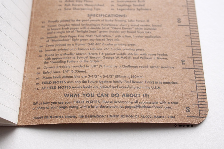 "Love how the mossy green ""Twilight Sage"" ink looks almost soft gray on the kraft paper."