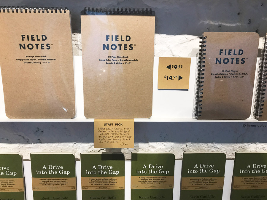 """The Steno  is Jim Coudal's Staff Pick: """"I have had a steno open on my desk every day for six years. Today's to-do list goes on the left, the future goes on the right."""""""