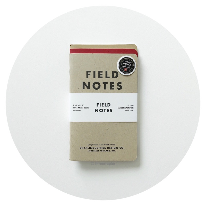Field Notes: Tenth Anniversary Edition (2017)