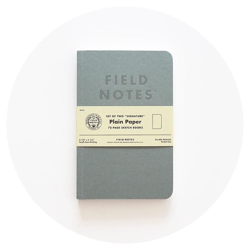 Field Notes: Signature (Plain)