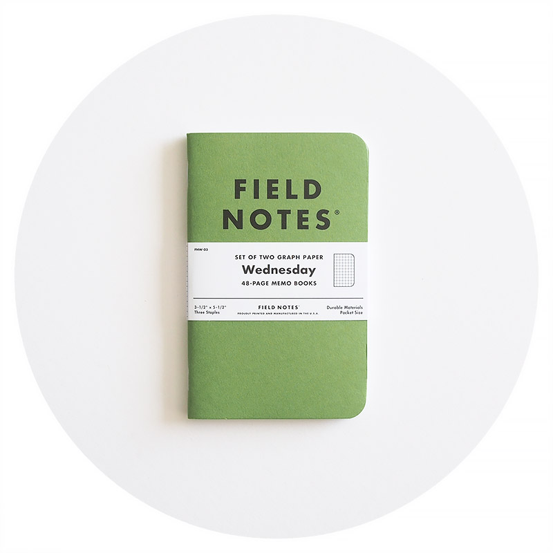 Field Notes: Green Wednesday (December 2018)