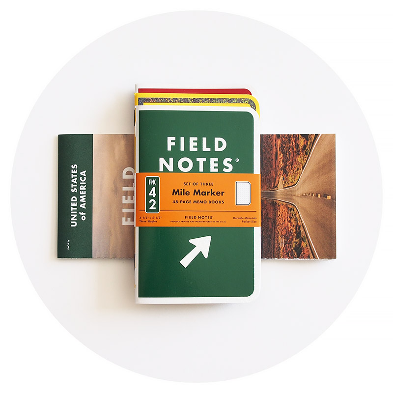 Field Notes Colors: Mile Marker (Spring 2019)