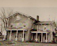 Chauncey Washington Ferris's home on North Street.