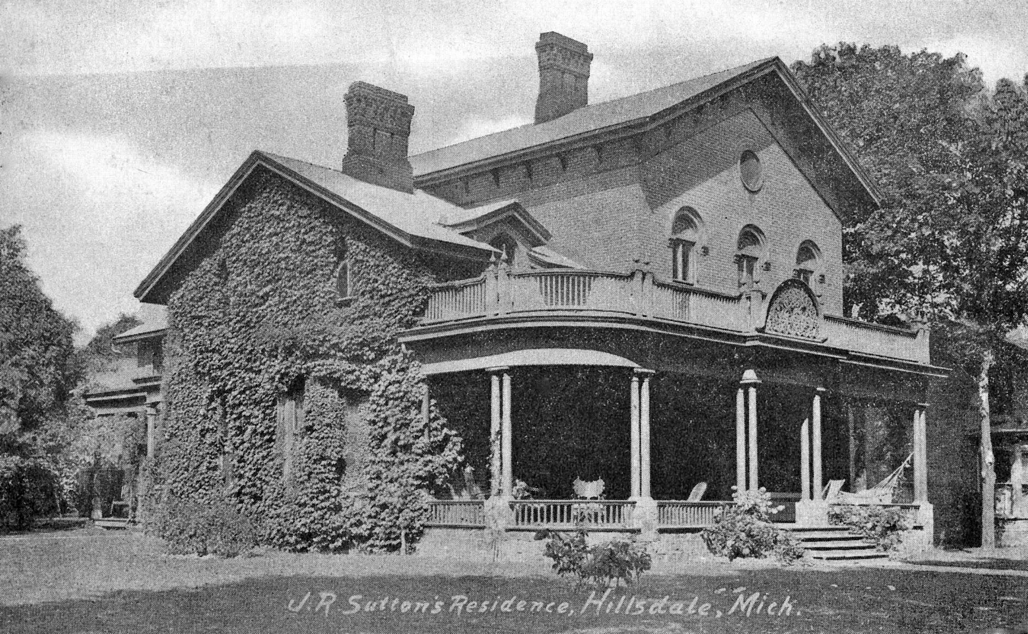The John & Gertrude March Sutton Home
