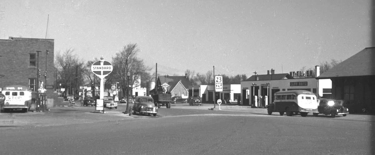 gasoline stations & garages