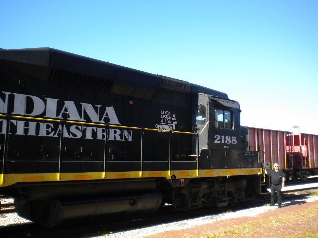 a boy's railroad dreams come true