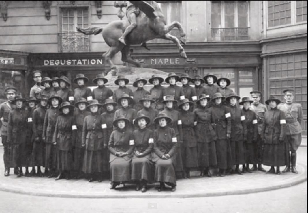 the hello girls of world war I