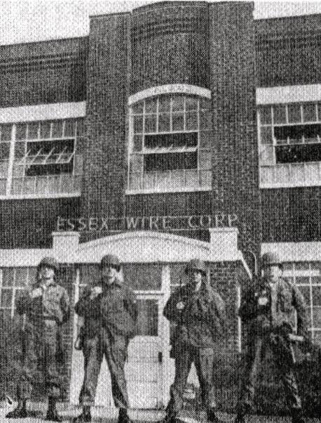 Essex wire strike