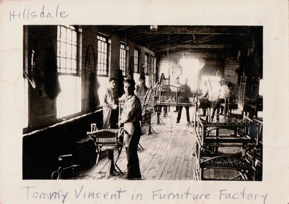 Tommy Vincent - Acme Chair Co. Employee
