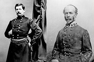 George McClellan & Joseph Johnson