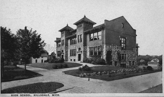Hillsdale High School - 1929