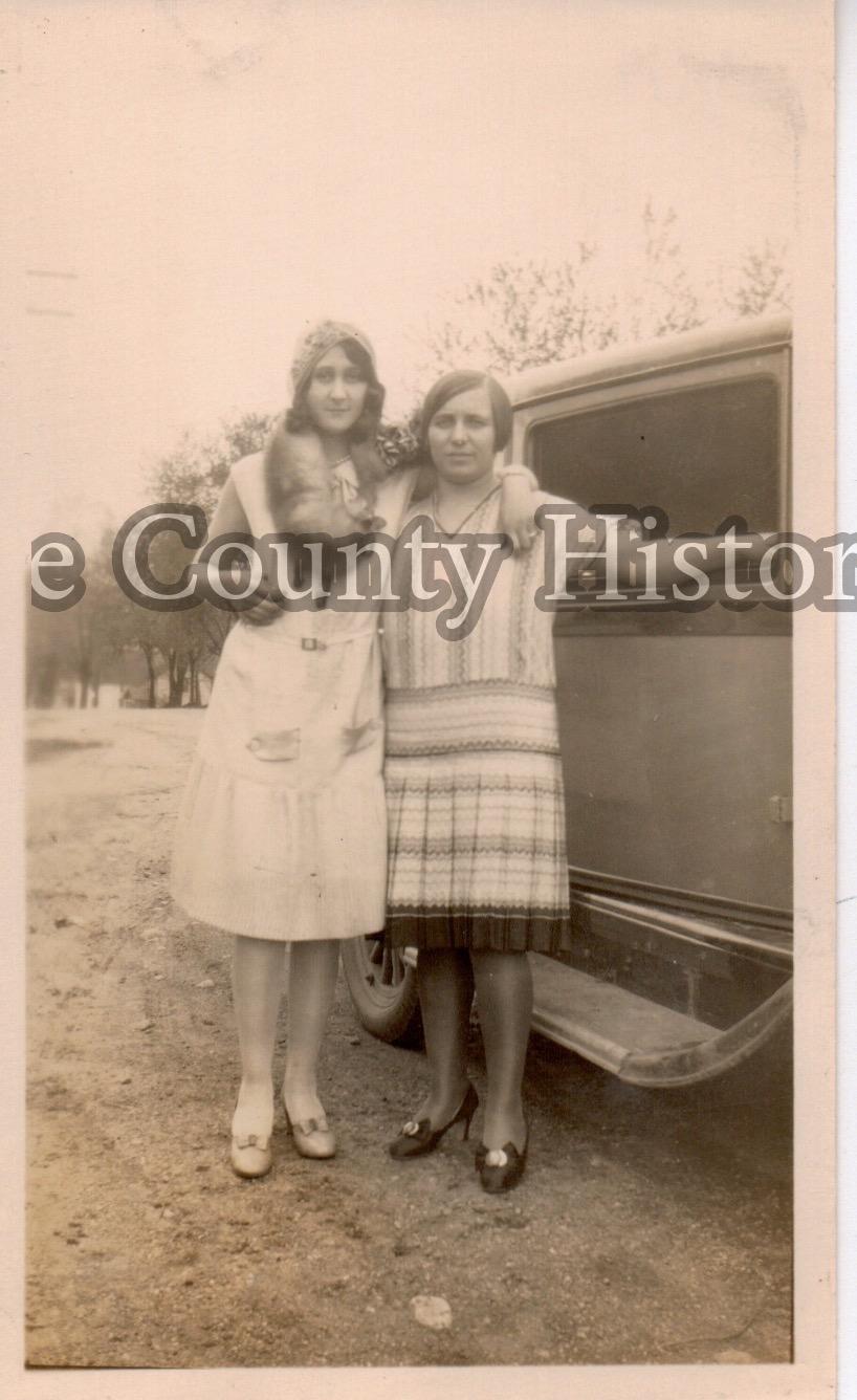 Camilla Spiteri Savarino with Aunt Lucy from Cleveland.