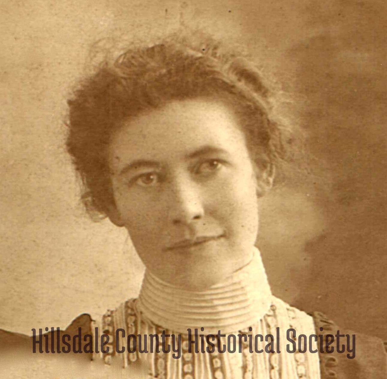 Gertrude March Sutton, who became part owner and the manager/editor of The Hillsdale Leader in the early 1900s