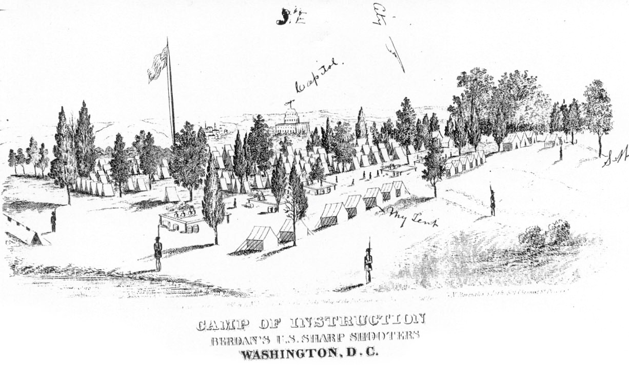 THE U.S. SHARPSHOOTERS AND THE SIGNAL CAMP OF INSTRUCTION