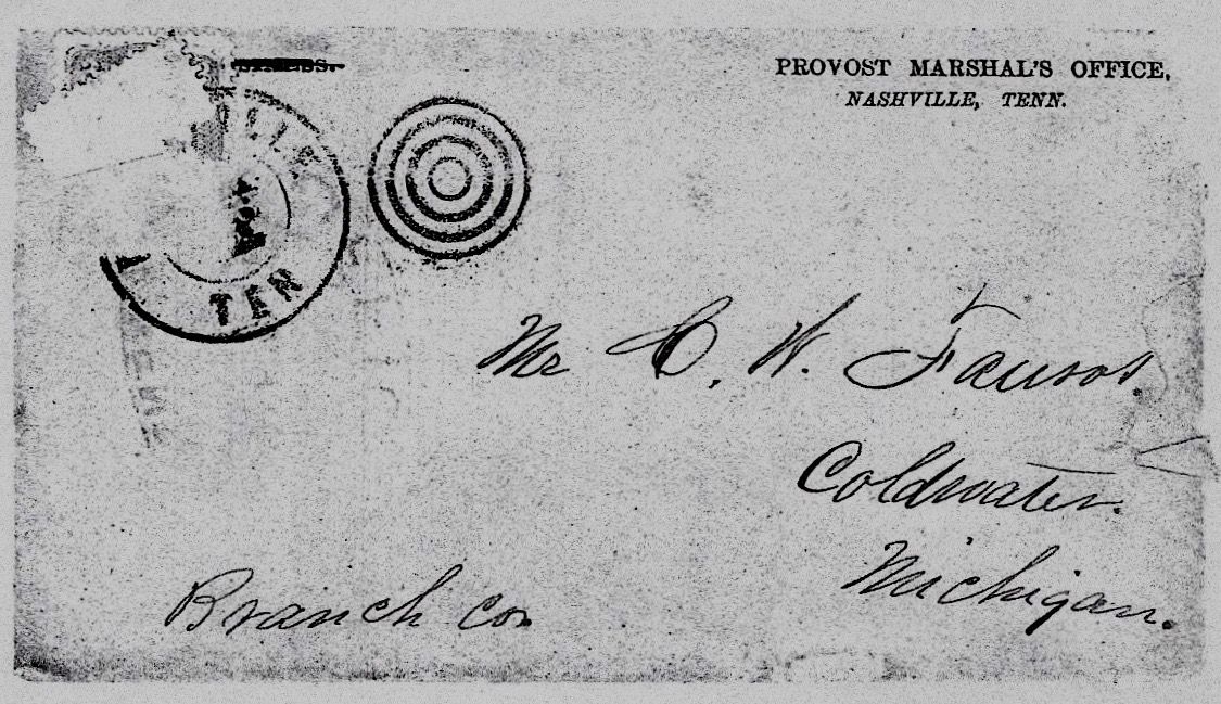 civil war letters from william faurot