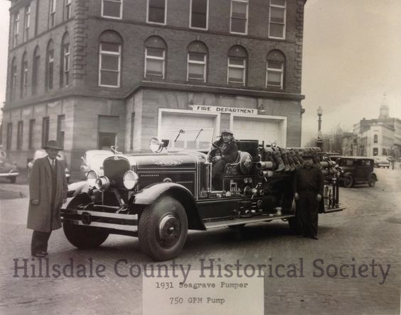 Fire fighting & the 1931 Seagrave