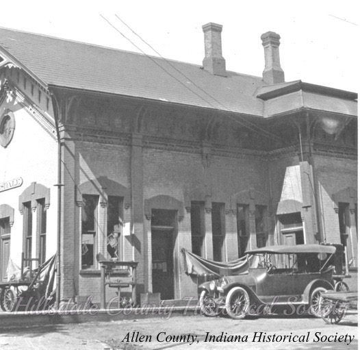 the hillsdale depot, c. 1918 …