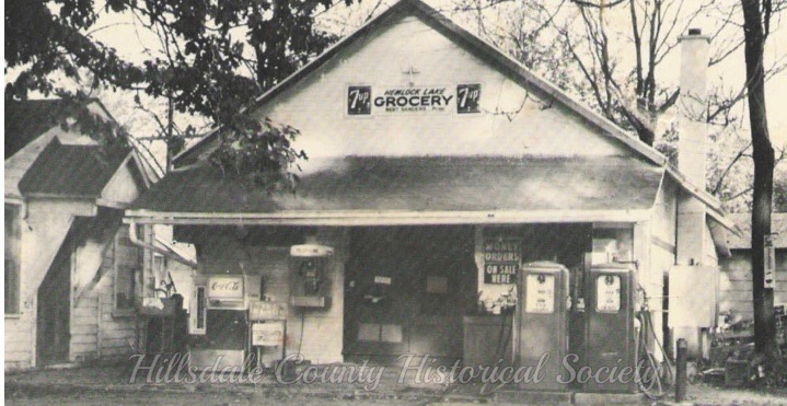Hemlock lake grocery Owner Bert Storer also offered gas and bait