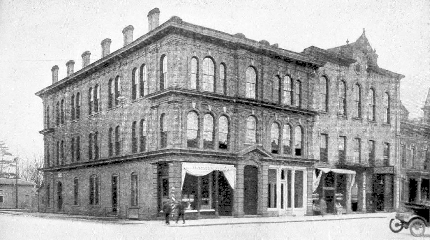 The Sutton block