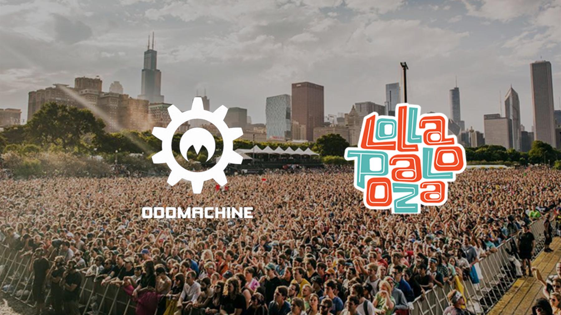 Lollapalooza x Oddmachine