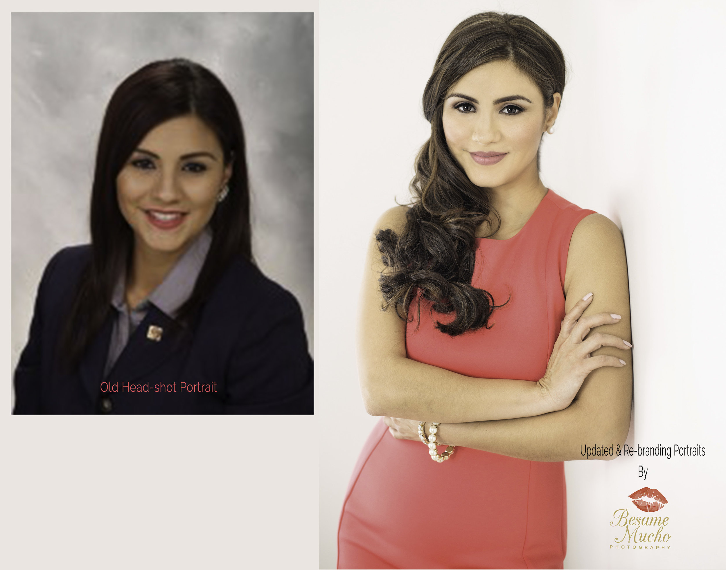 Picture on the Right (pink dress) by Carla Perez at Besame Mucho Photography