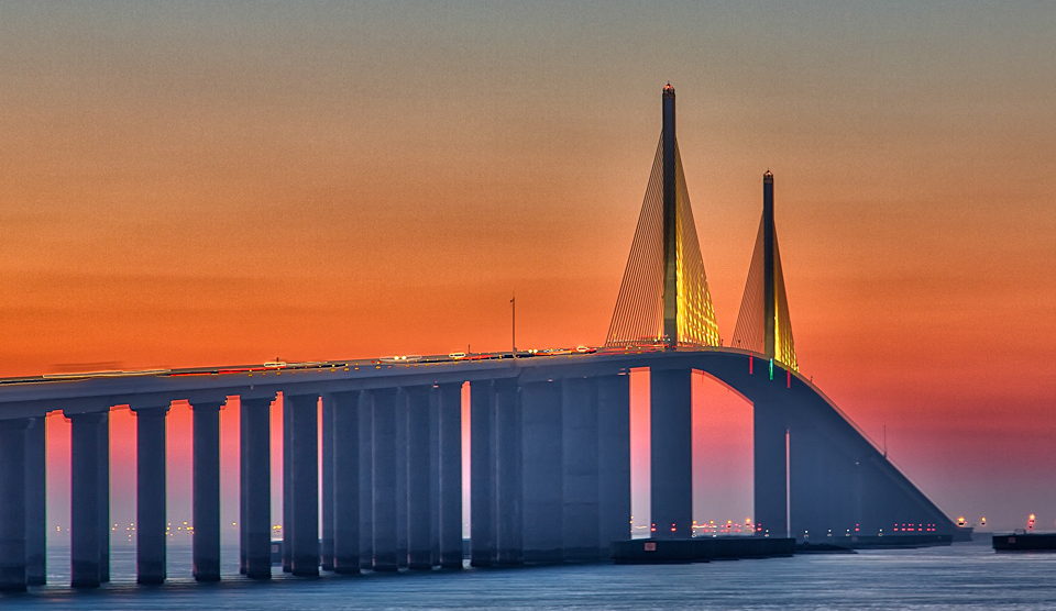 Sunshine Skyway Bridge, Tampa FL
