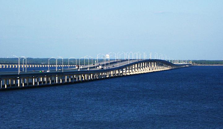 Escambia Bay Bridge, Pensacola FL