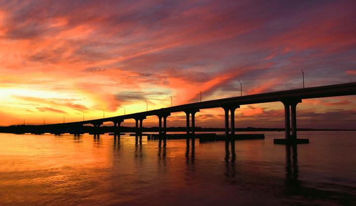 Vilano Beach Bridge, St. Augustine FL