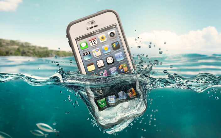 The Lifeproof cases protects devices from the elements. Photo: Lifeproof