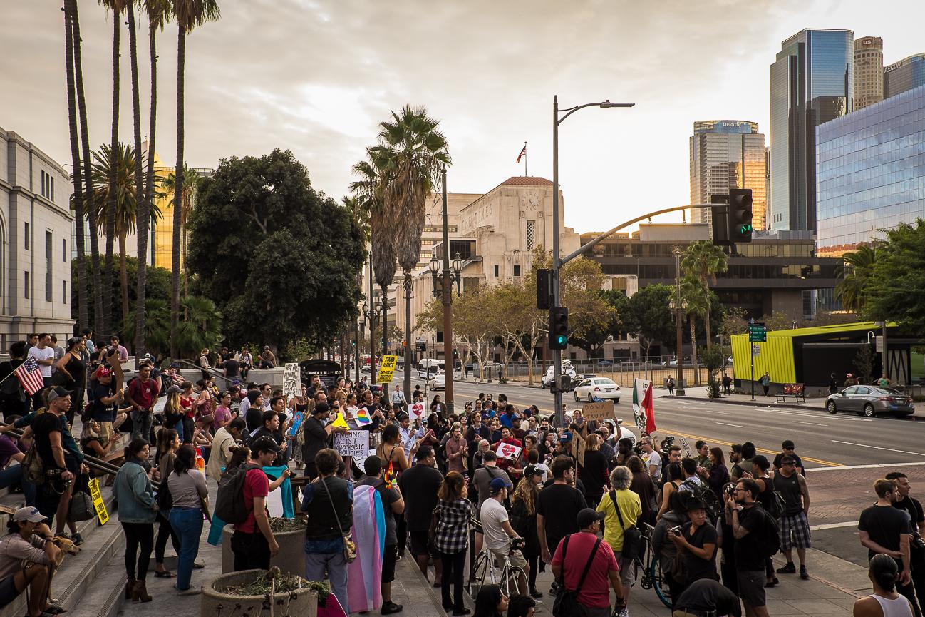 Anti Trump Rally, DTLA, November 2016