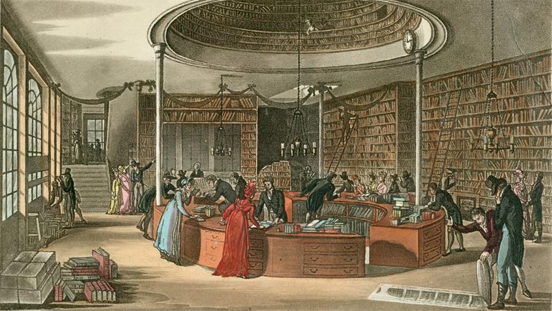 Lackington bookstore at Finsbury Square