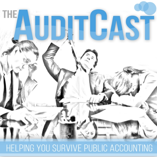 """Purpose:   The AuditCast is here to help answer the endless amounts of questions that come with working in Public Accounting. I have put together a series of Podcasts to help give you a quick high level understanding of how to audit specific areas, navigating personalities, recruiting, CPA Exams, Work/Life balance, travel tips, Excel/Technology tips, and tons of other stuff I've had to figure out on my own.    Background:   I started this because during my first few years in Public Accounting, I recall spending hours searching through Codification guidance, firm guidance, publications, and all the other research tools to find simple answers I was looking for. I even went to Google a few times and searched, """"how to audit (fill in the blank)"""" and nothing would come up. So I decided to do something about it and help the next generation out. Since I often had more questions than just """"how to audit ___"""", like """"How to set up a memo?"""" or """"How am I going to get through another busy season?"""", I thought I would add episodes with as many of the work-lessons I've learned over the years as I can remember. If there's a topic you would like to hear about, or hear more about, please reach out on twitter or on the blog page!   Procedures:   The way it works is I've posted a series of very short podcasts to iTunes and our ShoutEngine page. They are 100% free and run approximately 10-15 minutes. They are segregated by subject, so you can browse and find the one you want. This is a great tool to utilize prior to starting procedures over a certain area. My goal is to not interfere with your work day or efficiency, that's why the episodes are short and to the point. Also, I did them in the podcast format because we read too much as it is. We just don't have time for that.   Results:   See our the below links to the episodes.  ***Pending iTunes  ***Pending ShoutEngine"""