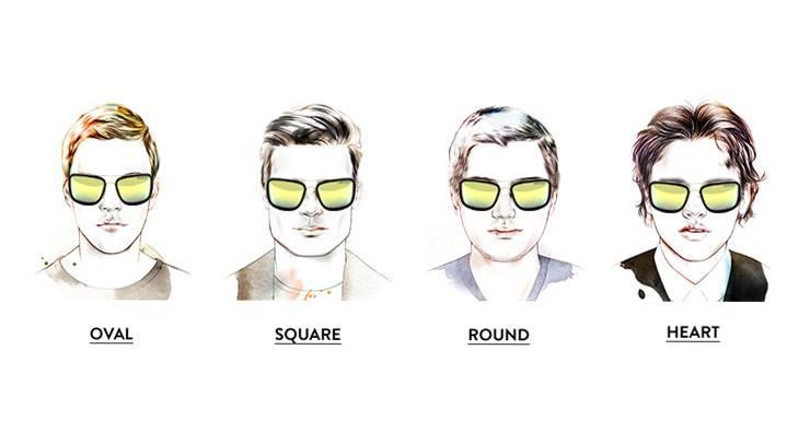 CUBE  在各種男生臉型 ( 鵝蛋臉,方形臉,  圓形臉, 心形  臉 )