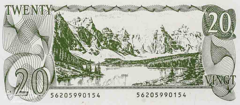 Picture from :http://banffandbeyond.com/the-lake-with-the-twenty-dollar-view-moraine-lake/