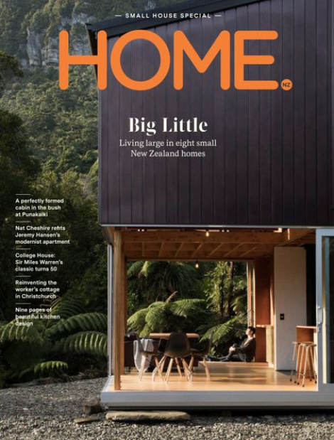 Small yet robust. - Mitchell Coll designed two compact homes to fit on a 300-square-metre site in Christchurch. The design was inspired by his time spend in backcountry huts in New Zealand. I had the pleasure of interviewing Mitchell for Home Magazine.Read the story here.