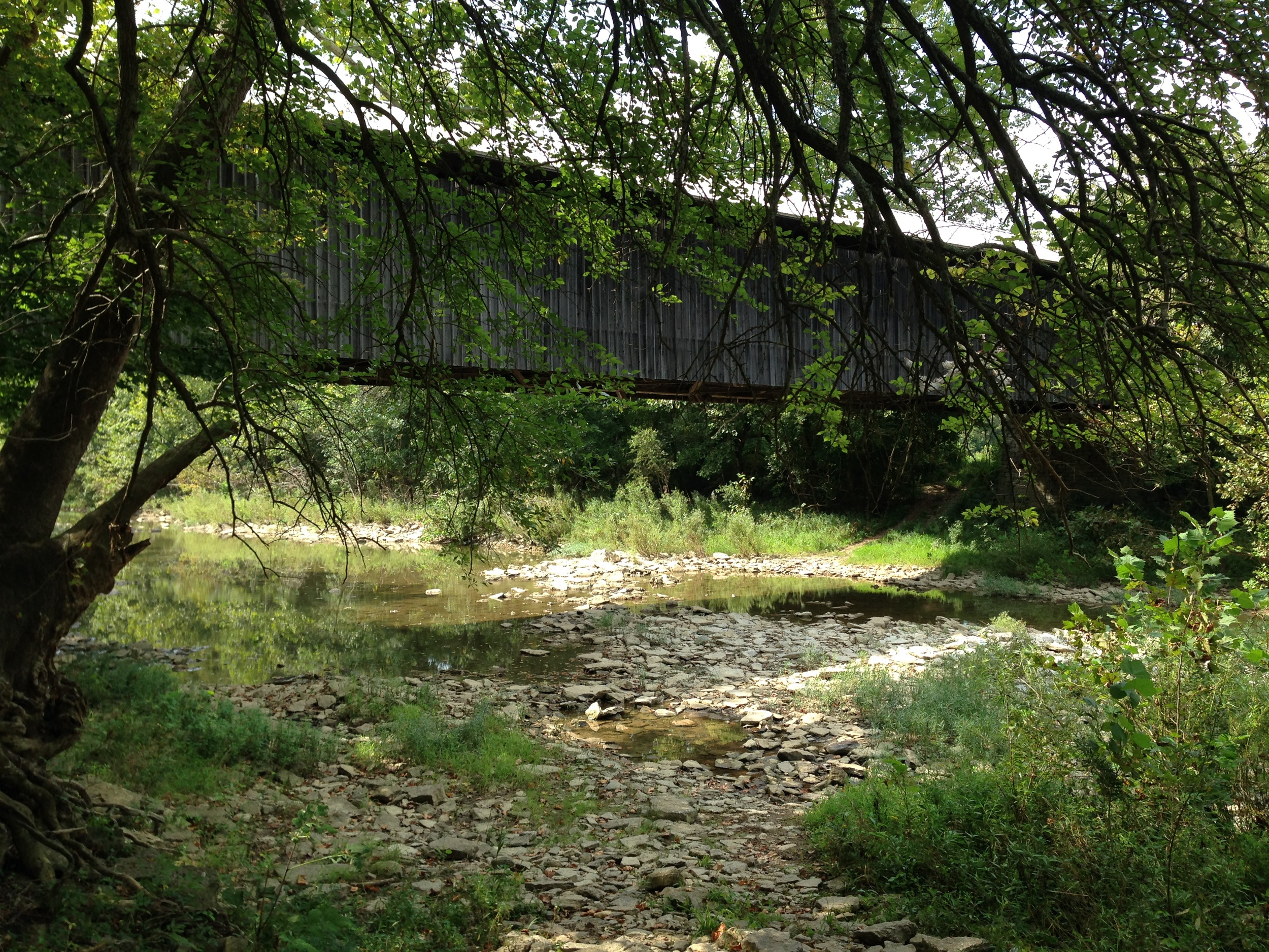 North Pole Road Bridge Crosses Eagle Creek