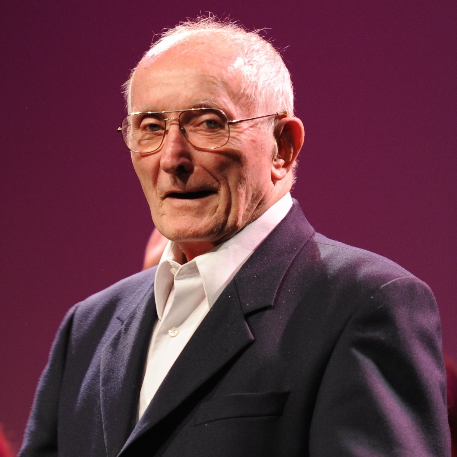 Ward in 2010 at a Swingle Singers reunion. Photocredit: Roswitha Chesher