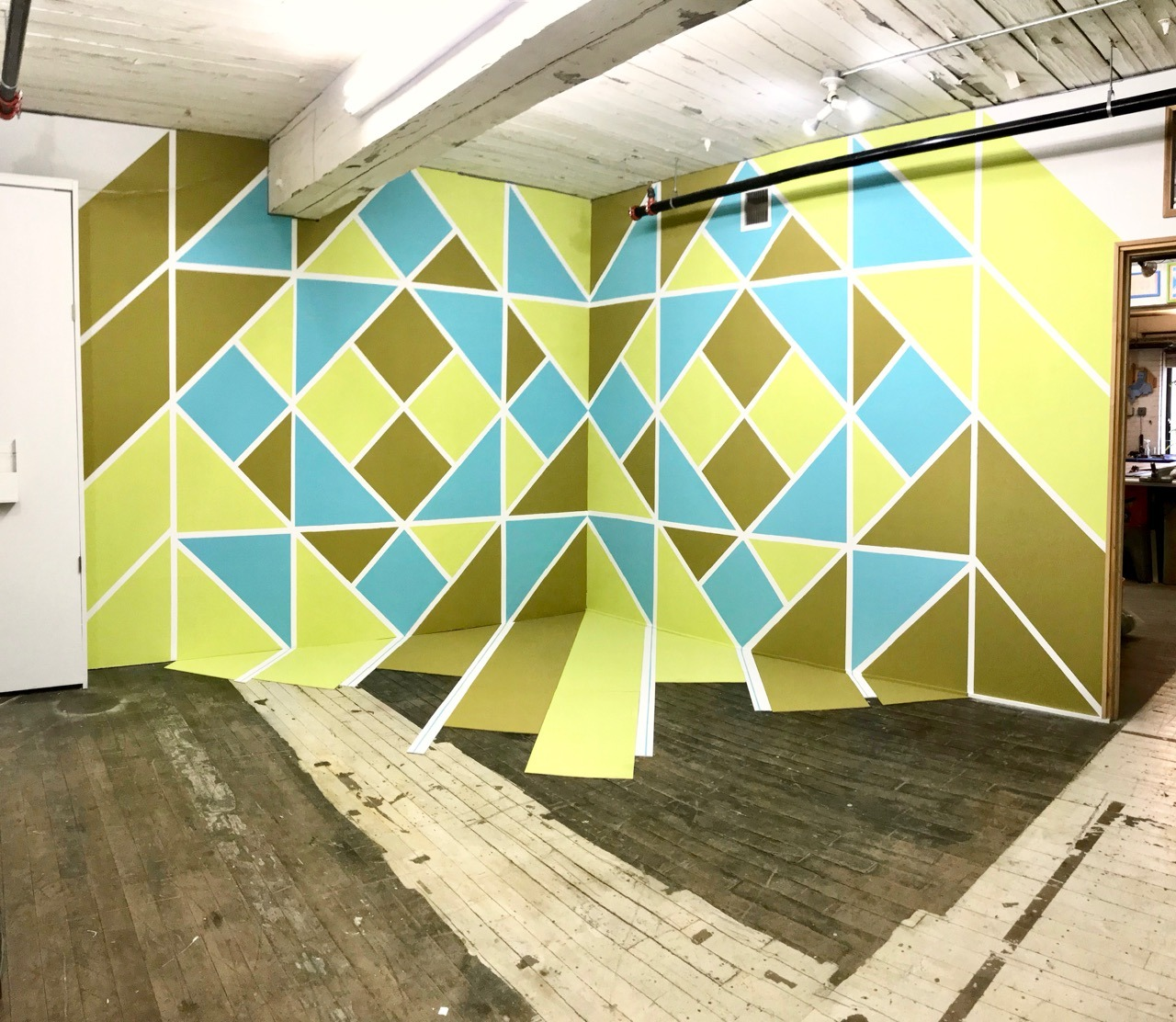 9′ by 20′ mural / installation
