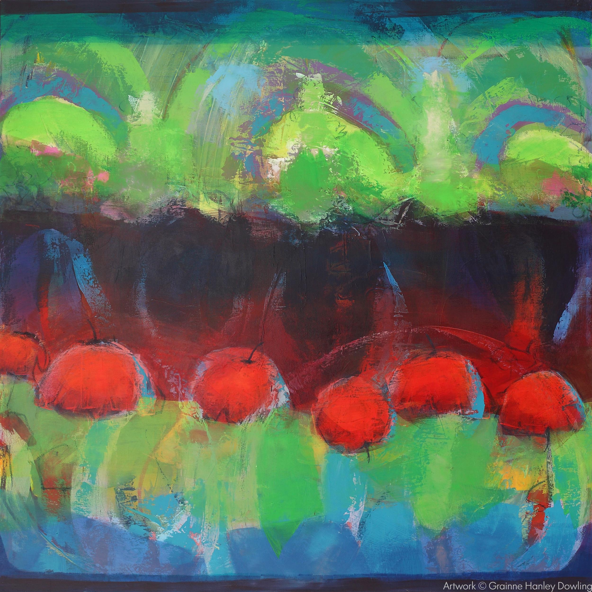 Artwork is by Grainne Dowling-