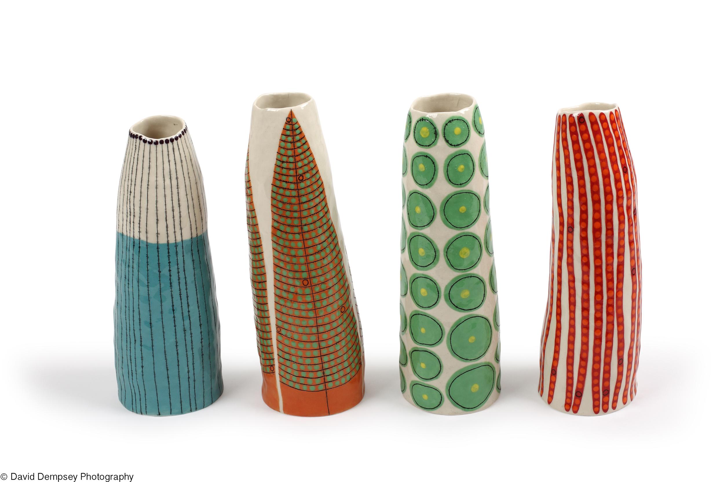 Vases by Andrew Ludick