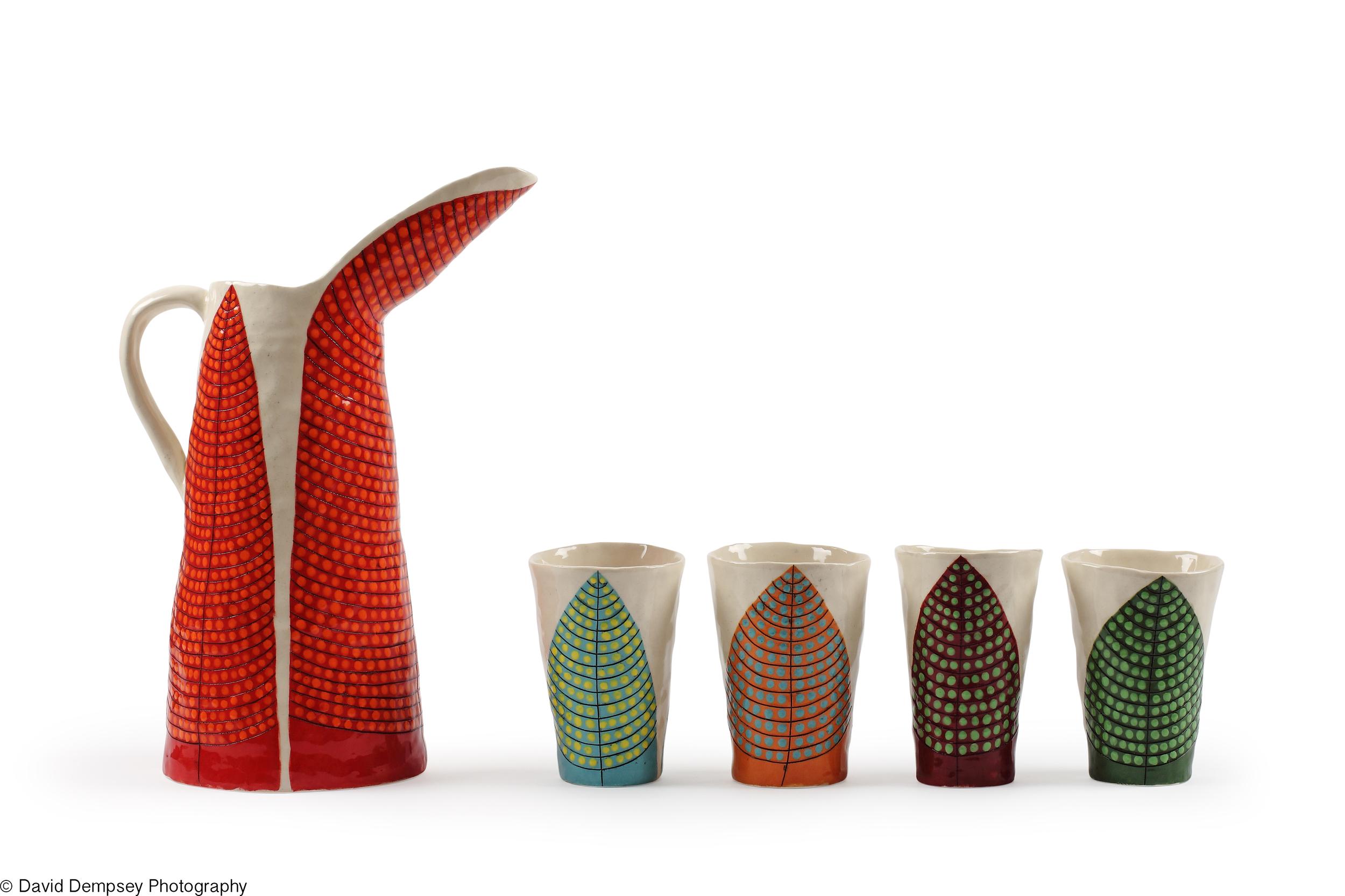 Ceramics by Andrew Ludick.